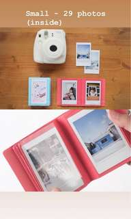 Small Instax Mini Polaroid photo album