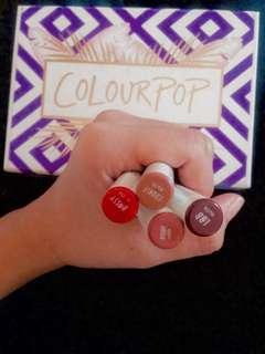 Original Colour pop lippies