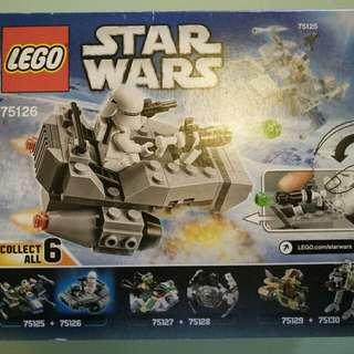 Original Lego First Order Snowspeeder