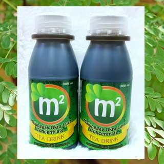 M2 Malunggay Okra Luya Concentrate Tea Drink (300ml)