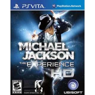 Michael Jackson The Experience HD PS vita
