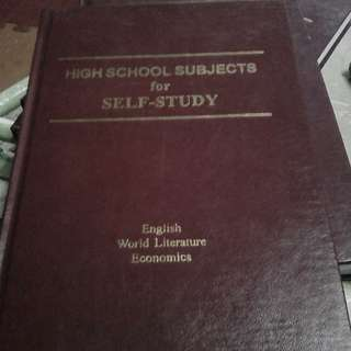 Book for self study