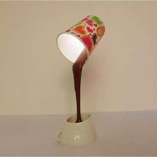 Lampu led kopi tuang