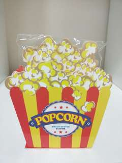 """🚚 💰🎈#HariRaya35 GSS SALE!! (U.P:$12) BRAND NEW!! """"POPCORN"""" (SWEET BUTTER FLAVOUR) STAND MEMO JAPAN 80 SHEETS!! BRAND NEW, SOME LIGHT SCRATCHES, WEAR & TEAR,  REFER TO PIC 5, VISIBLE UNDER LIGHTING, NOT FOR FUSSY BUYER, OTHERWISE GOOD CONDITION!!"""