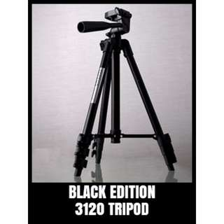 WT-3120 TRIPOD Black Edition For Camera