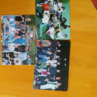 seventeen yes card (all)