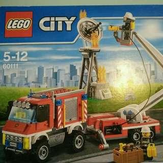 Original Lego Fire Utility Truck