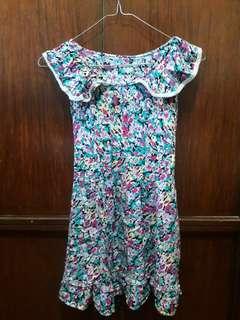 Floral short dress/top