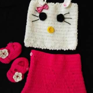 Hello kitty baby costume newborn