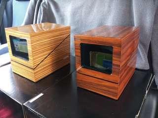 全新自動轉盤錶盒 (跟三腳火牛) 每個$350