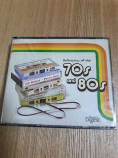 Reflections of the 70s & 80s (a set of 4 CDs)