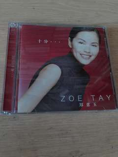 十分  Zoe Tay 郑惠玉 CD+ VCD Singapore Chinese Songs