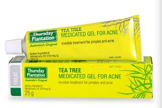 (Ready Stock!)Thursday Plantation Tea Tree Medicated Gel For Acne, 25g