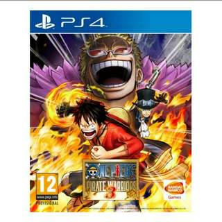 PS4 One Piece Pirate Warriors