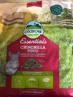 Oxbow Essentials Chinchilla Food 10 lbs (4.5kg)