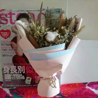 韓式 乾花木棉花花束