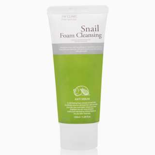 3W CLINIC Snail Foam Cleansing 100ml