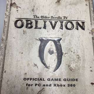 Elder Scroll IV Oblivion Official Game Guide