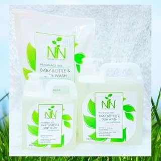 Nature to Nurture Bottle & Dish Wash Refill Pack (800ml)