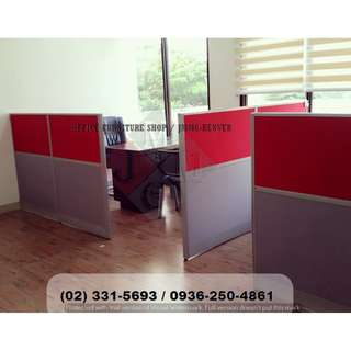 Full Fabric-2 tone Divider- Office Partition*Furniture