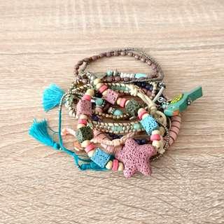 Pull & Bear - beach bracelets