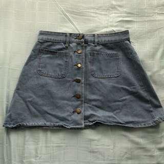 ❕Instocks❕Korean High Waist Denim Skirt