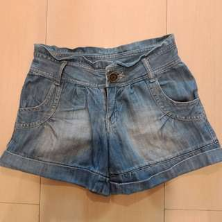 Body & Soul Original Pants Denim Jeans Short Celana Pendek size S