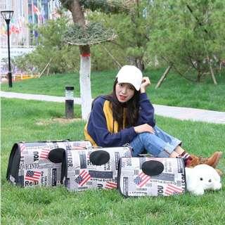DP雜貨鋪 寵物用品 便攜式外出包提袋多款任選 貓狗外出包提籠 馬爾濟斯/貴賓/博美/吉娃
