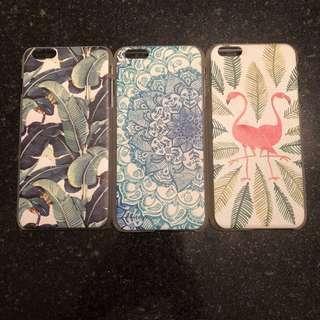 文青系列 Hipster Style iPhone 6 Plus case trio (set of 3)