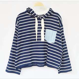 NEW HOODIE SWEATER Stripe