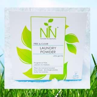 Nature to Nurture Laundry Powder w/ Baking Soda (1Kg)