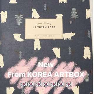 ARTBOX notebook form Korea 🇰🇷🇰🇷🇰🇷