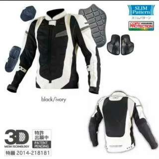 Komine 3D Mesh Shock Absorption Riding Jacket