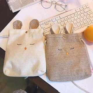 Ulzzang Bunny Pouch (PO)