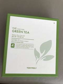 BNIB TONYMOLY Chok Chok Green Tea Watery Skin Care Set