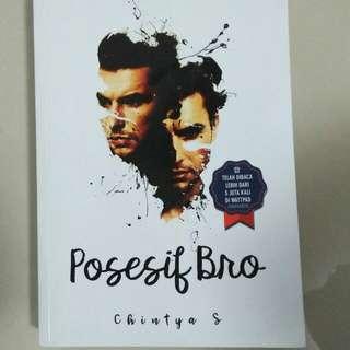 """Novel best seller  """"possesif bro"""""""