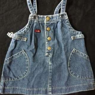 Blouse jeans 6-12m