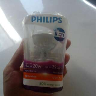 Philip LED 4W Warm White