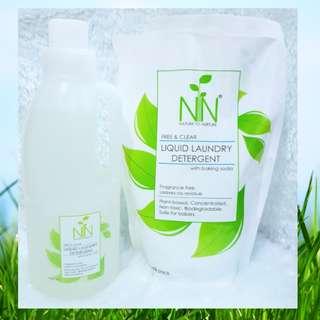 Nature to Nurture Liquid Detergent Refill Pack (800ml)