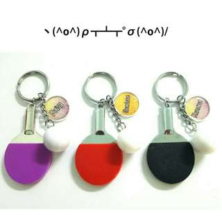 Customized Ping Pong Keychains