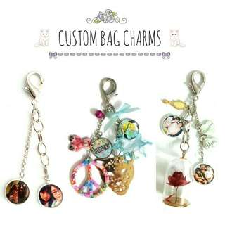 Customized Bag Charms