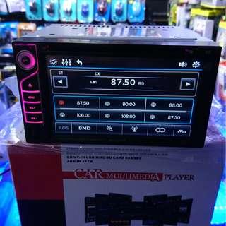 (最新) 包安裝 大面板 CAR PLAY 手機同屏 AIR PLAY MP3 USB FM Bluetooth 藍芽