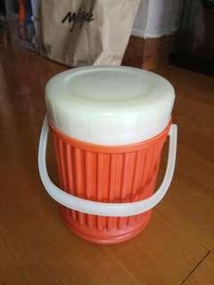 古董珍藏 60年代 香港出品 保溫飯壺