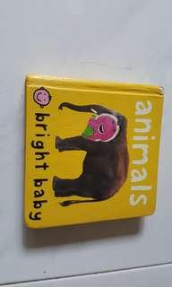 Hard cover baby books - Animals