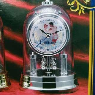 Disney Cinderella Bell Jar Swing Clock