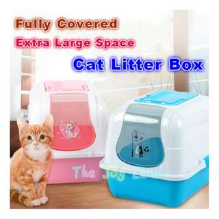 Litter Box - Fully Covered