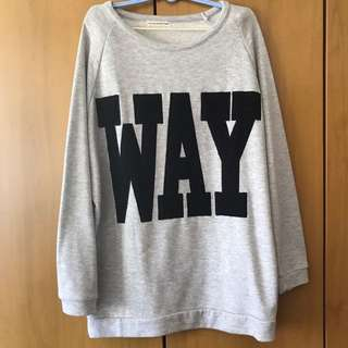 pull over / long sleeves shirt