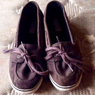 AUTHENTIC PRELOVED SPERRY TOPSIDER {GREY}