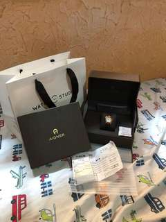 Original Aigner watch