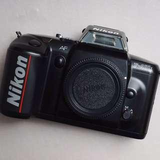 Kamera analog nikon f401x body only mulus normal